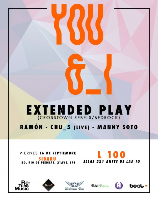 Flyer You and I 16 sept
