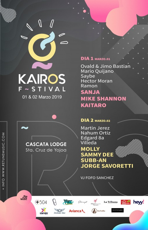 KAIROS FESTIVAL AFICHE OFICIAL 2019